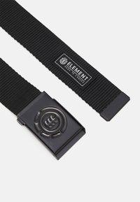 Element - BEYOND BELT UNISEX - Pásek - black - 1