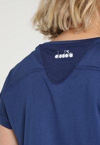 Diadora - TEAM - T-shirt basique - saltire navy - 4