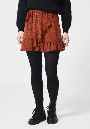 ANN - A-line skirt - terra