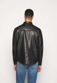 STUDIO ID - LEONARDOS - Leather jacket - black - 2