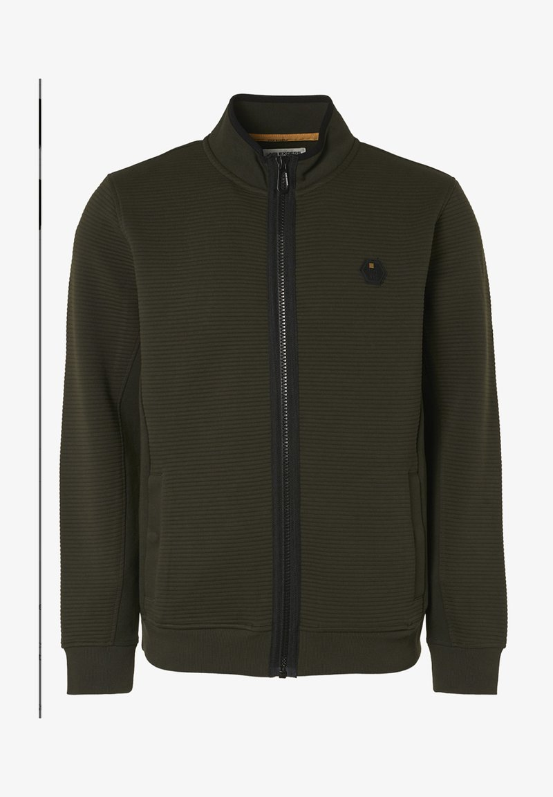 No Excess - Zip-up hoodie - moses