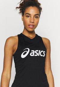 ASICS - TANK - Top - performance black/brilliant white - 4
