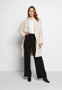 comma - COAT - Zimní kabát - sand - 1