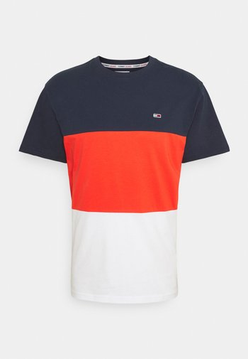 CLASSIC COLOR BLOCK TEE - T-shirt print - horizon