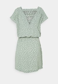 ONLY Petite - ONLMARIANA MYRINA LIFEDRESS - Day dress - chinois green/big karo dot - 1