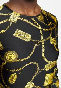 Versace Jeans Couture - Long sleeved top - black - 6