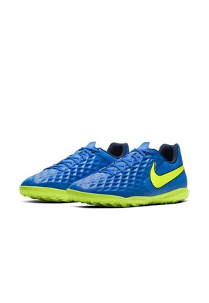 TIEMPO LEGEND 8 CLUB TF - Astro turf trainers - soar/volt-midnight navy