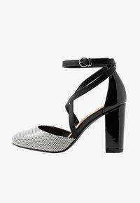 Wallis - CURTIS - High heels - black/white - 1