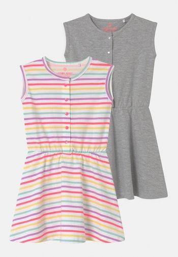 SMALL GIRLS 2 PACK - Robe en jersey - optical white