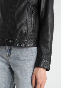 Oakwood - LINA - Leather jacket - black - 3