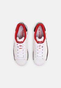 adidas Originals - SUPERSTAR UNISEX - Trainers - white/core black - 1