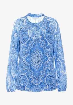 Tunic - paisley blue
