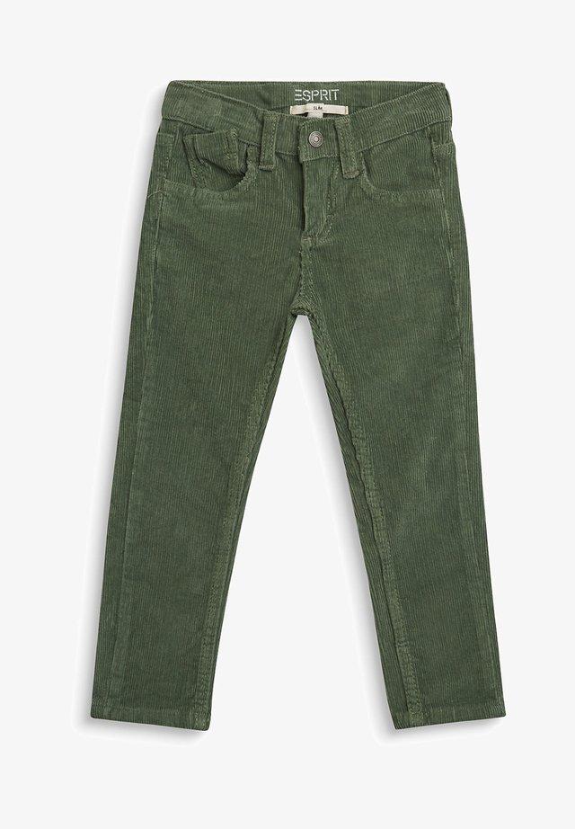 Broek - dusty green