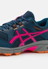 ASICS - GEL-VENTURE 8 - Trail running shoes - mako blue/pink glow - 5