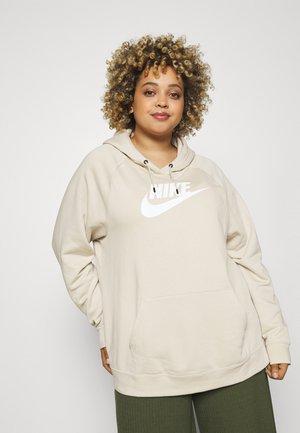 Sweatshirt - rattan/white
