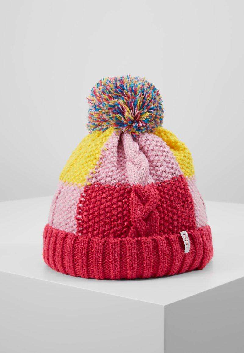 Esprit - SCARVES HAT - Čepice - candy pink