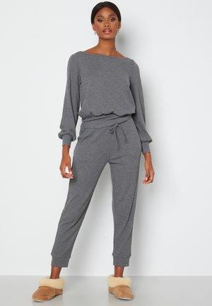 AMAYA  - Tracksuit bottoms - light grey