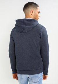 Tommy Jeans - ORIGINAL ZIPTHRU - Zip-up hoodie - black iris - 2