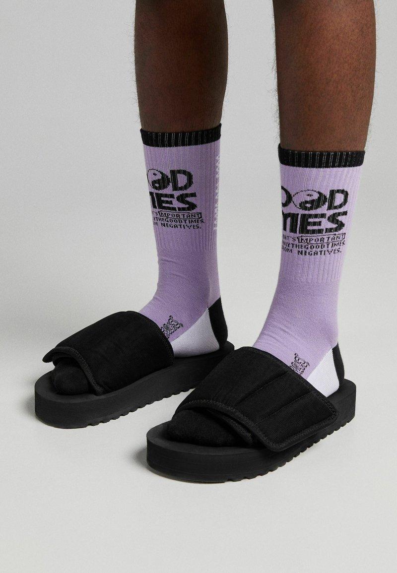 Bershka - 2ER PACK - Ponožky - multi-coloured