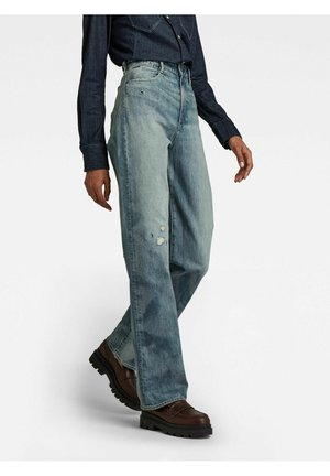 TEDIE - Straight leg jeans - faded bay burn destroyed