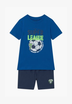 SMALL BOYS FOOTBALL SET - Tracksuit bottoms - royal