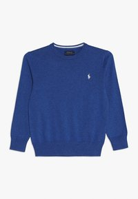 Polo Ralph Lauren - Stickad tröja - mottled dark blue - 0