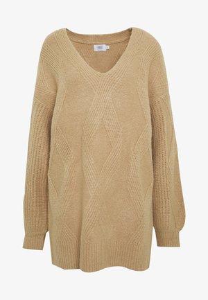 Donna Romina x NA-KD - Jumper dress - beige