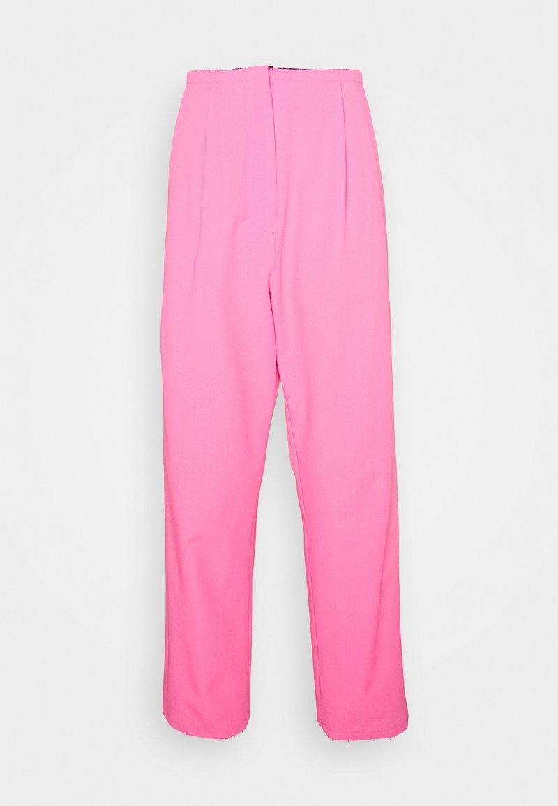 MM6 Maison Margiela - PANTS - Kalhoty - pink