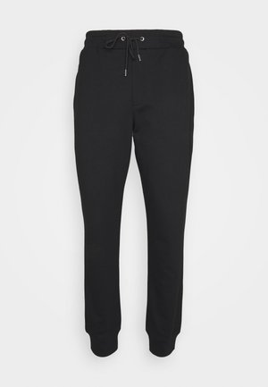 ANEIGMA - Tracksuit bottoms - black