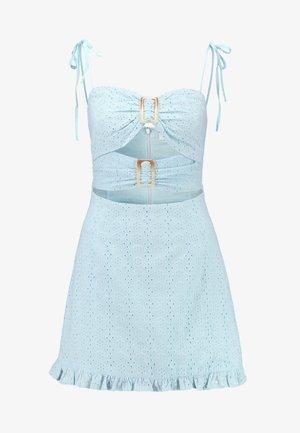ROZA DRESS - Denní šaty - blue