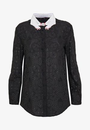 Camicia - fantasia nera