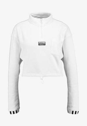 CROPPED - Sweatshirts - white