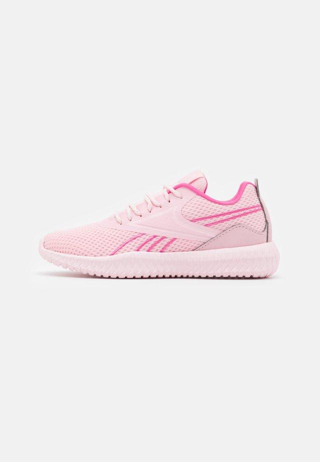 FLEXAGON ENERGY KIDS UNISEX - Scarpe da fitness - pink glow/porcelain pink/true pink