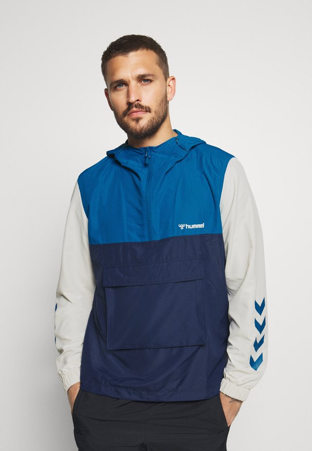 AKELLO LOOSE HALF ZIP JACKET - Sportovní bunda - blue sapphire