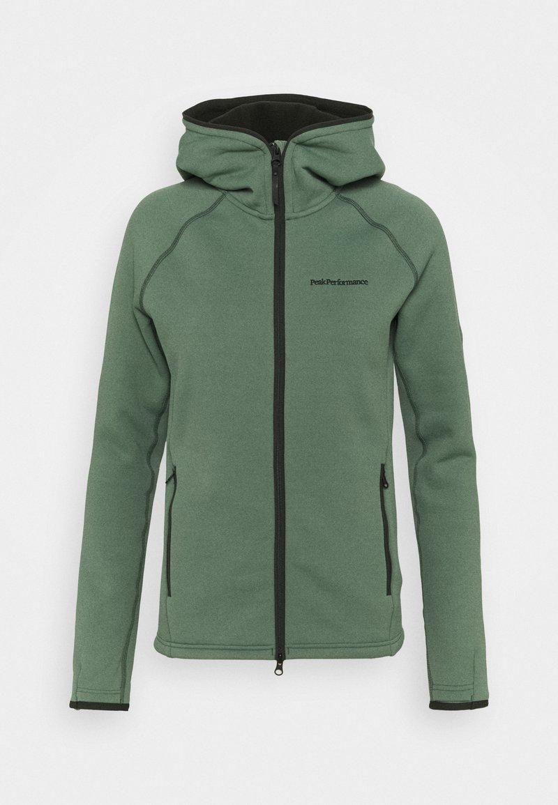 Peak Performance - CHILL ZIP HOOD - Fleece jacket - fells view