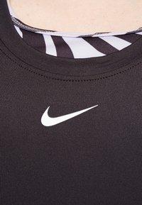 Nike Performance - ONE SLIM TANK - Toppi - black/white - 4