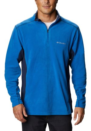 KLAMATH RANGE™ ZIP - Fleece trui - blue melange