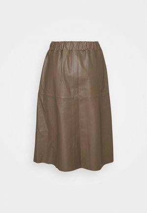 KIM - A-line skirt - chocolate chip