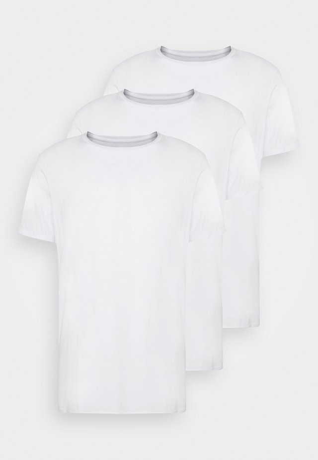 ESSENTIAL TEE 3 PACK - T-shirt basique - white