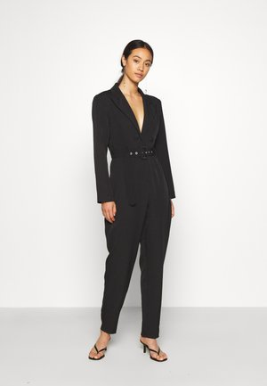 TAILORED BELTED - Jumpsuit - black