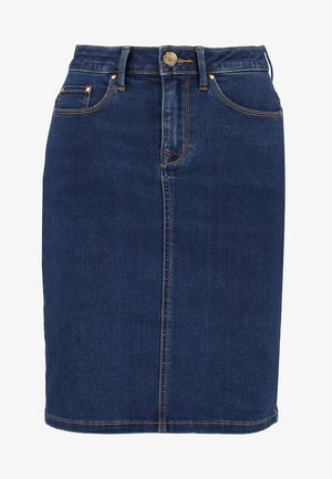 VICOMMIT FELICIA SHORT SKIRT - Jeansrock - medium blue denim
