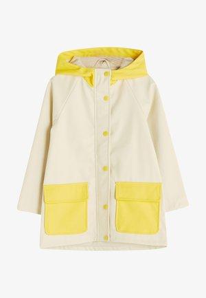 REGENJACKE - Waterproof jacket - ecru