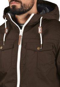 Solid - TILAS - Winter jacket - dark brown - 3