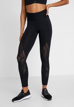 RUSH VENT LEGGINGS - Legginsy - black