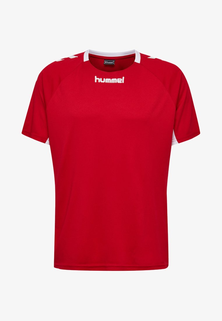 Hummel - Print T-shirt - true red