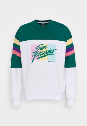 CREW SAN FRANCISCO UNISEX - Sweatshirt - white