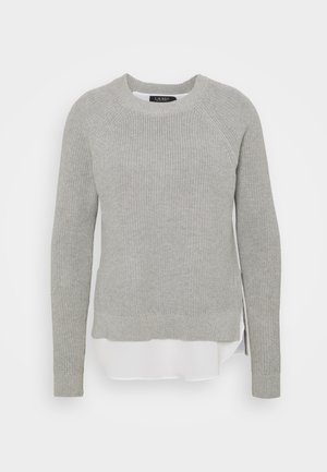 COMBED - Jumper - pearl grey