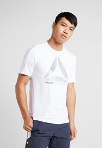 Reebok - OST ACTIVCHILL MOVE TEE - Print T-shirt - white - 0