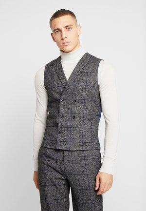 KENT SUIT - Suit waistcoat - grey