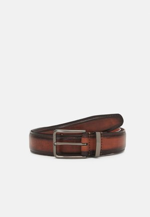 LEATHER - Pasek - brown